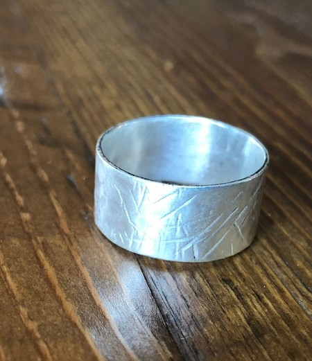 Recycled 925 Silver boho male and female rings - made to order. Hand-made, craft