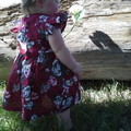 Evelyn Floral Polly Pinafore