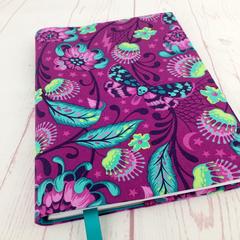 Gothic Butterflies A5 Journal Notebook Cover