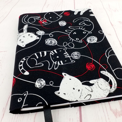Cats with Yarn A5 Journal Notebook Cover