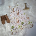 Safari Knot Overalls Babys Toddler