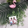Hula Hoops - Glitter Sparkles - Resin - Stud Dangle earrings