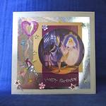'Pretty Princess' Birthday Card