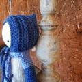 Handmade Crochet Child's Doll Toy