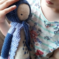 Handmade Crochet Child's Doll Toy