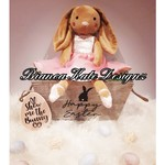 Brown TUTU Bunny