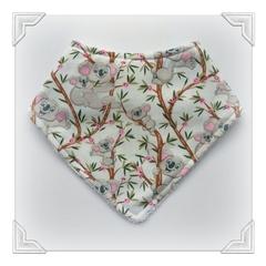 Handmade bib, koala, bandana bib, precious baby gift, Australian made