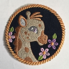 Childs Unisex denim animal patches 