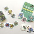 10 PACK CAT Box / Stickers / Kid / Children / Toy / Matchbox / Birthday