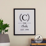 Family Established Print & Best Days of Our Lives Print. Mother's Day Photo Wall