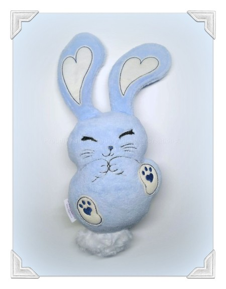 Gorgeous Giggle Bunny - Blue