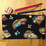 Colourful VW Beetle Pencil Case