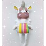Handmade unicorn doll, gift for her, rag doll, unicorn, unicorn toy, doll, gift