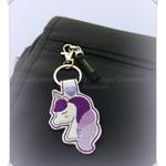 Magical unicorn keychain, cute keyring, keychain, cute gift idea