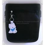Puppy key fob, dog, keychain, animal key chain, perfect gift idea