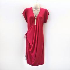 Funky Side-drape Dress