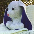 """Peta"" the funny cotton tail bunny."