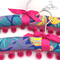 Retro / Vintage Style Coat Hangers with a hint of pink