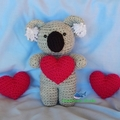 Koala Plush / Crochet Koala / Crochet Toy / Softie / Amigurumi