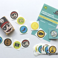 Pirate Box / Stickers / Kids / Children / Matchbox / Party Bag / Birthday