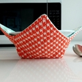 Hot Bowl Cozy | Hot Bowl Holder | Birdcage | Reversible | Free Shipping