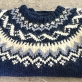 Hand Knit Jumper Traditional Icelandic knitwear