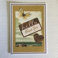 Sky and Seascape Thank You Card