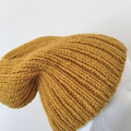 Knitted Slouchy Hat Pattern Easy Knit Hat Beanie pattern