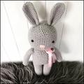 Crocheted Toby bunny 🐰