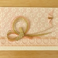 Free shipping! Japanese mizuhiki washi paper greeting cards -one of a kind-