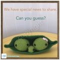 3 peas in a pod - Pregnancy announcement