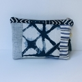 Patchwork boho arty clutch purse. Will hold your everyday necessities!