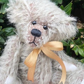 Fletcher - Hand sewn mohair bear, adult collectible