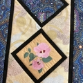 Australiana table runner  - 'Sturt's Desert Rose'