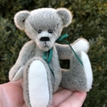 Minty - a miniature bear, adult collectible