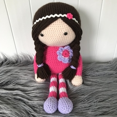 Crocheted Ava Doll