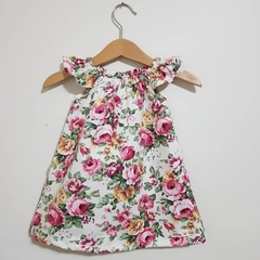 Girls Floral Flutter Sleeve Dress  Size 2 & 4