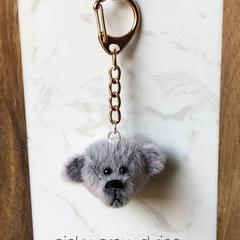 Teddy bear keychain / Bag decoration