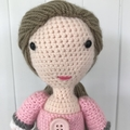 Crocheted Ivy Doll