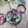 Mermaid Glitter Fusion -Resin - Necklace - Jewellery - Earrings