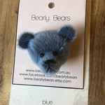 Teddy bear brooch / Bag decoration