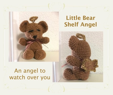 Little Brown Bear Shelf Angel