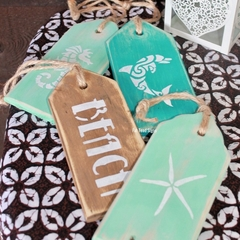 Beach Inspired Door Tag Signs