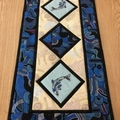 Australiana table runner - Dolphin