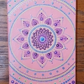 Dot Art Mandala diary / notebook