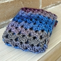 Crochet Scarf - Mauve
