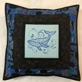 Australiana cushion cover - Humback Whale