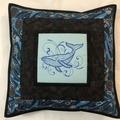 Australiana cushion cover - HUMPBACK WHALE