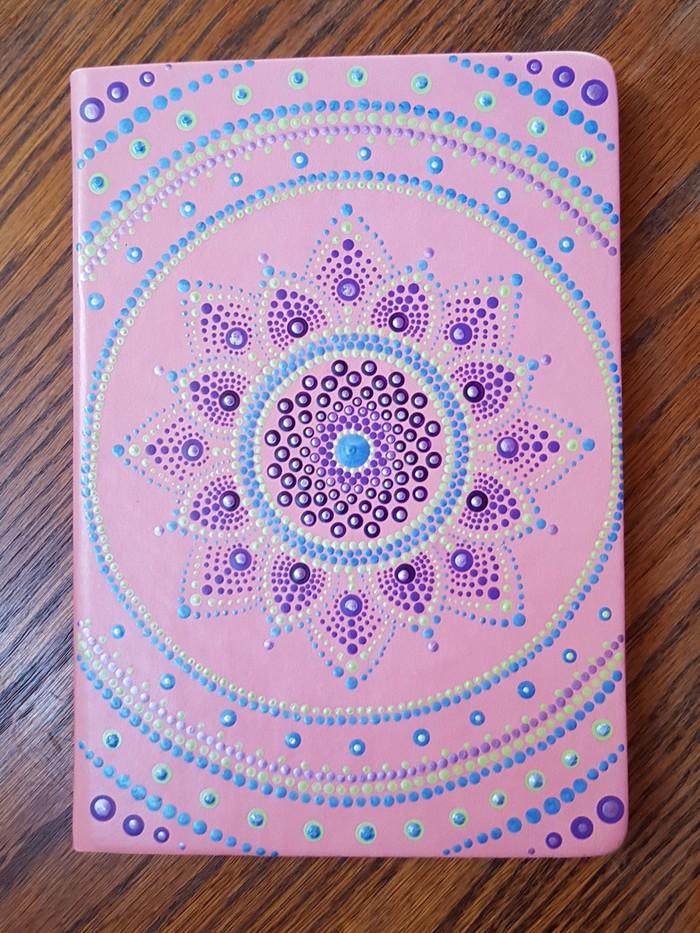Dot Art Mandala diary / notebook   Wild Fibre on Madeit