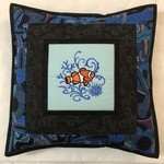 Australiana cushion cover - Clown Fish